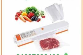 آلة تلحيم وصنع الأكياس البلاستيكية لحفظ الطعام وشف